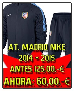 CHANDAL NAVY ATLETICO DE MADRID