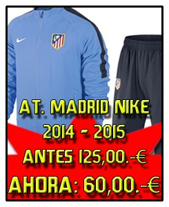 CHANDAL CELESTE ATLETICO DE MADRID
