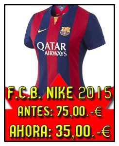 FCB 1º CAMISETA MUJER