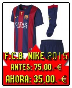 FCB 1º BOX NIÑO