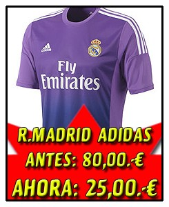 REAL MADRID CAMISETA MORADA 2013-14