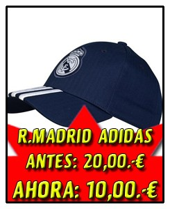 GORRA REAL MADRID NAVY