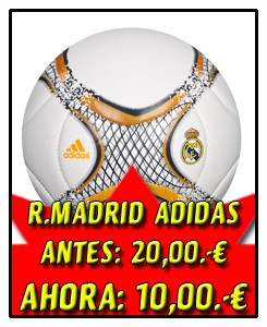 REAL MADRID BALÓN BLANCO