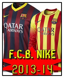 FC BARCELONA NEW NIKE STUFF 2013-14