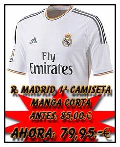REAL MADRID ADIDAS HOME JSY 2013-14
