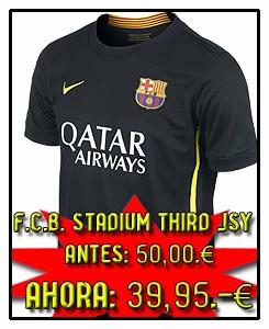 FC BARCELONA 3º STADIUM JSY 2013-14