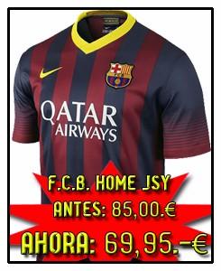 FC BARCELONA HOME JSY 2013-14