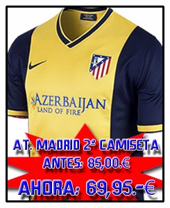 ATLÉTICO MADRID AWAY JSY 2013-14