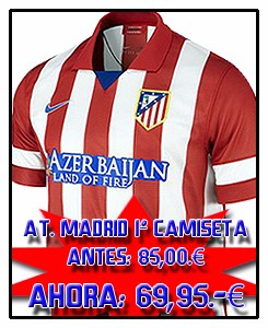 ATLÉTICO MADRID HOME JSY 2013-14