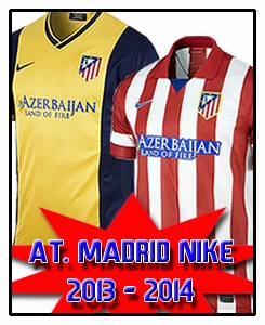 ATLÉTICO MADRID NEW STUFF 2013-14