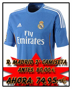 REAL MADRID ADIDAS AWAY JSY 2013-14