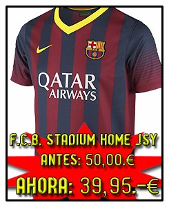 FC BARCELONA HOME STADIUM JSY 2013-14
