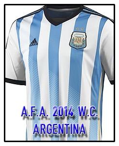 A.F.A. ARGENTINA WC 2014