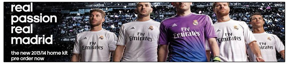 REAL MADRID NEW 2013-2014